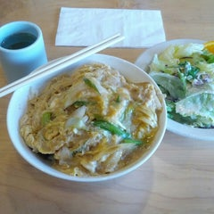 Photo taken at Gombei Bento by Chayant T. on 7/24/2013