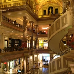 Photo taken at The Forum Shops at Caesars by Roy H. on 4/13/2013