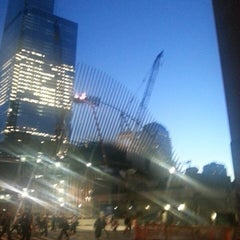Photo taken at World Trade Center Construction Security by Zafer Y. on 10/6/2014