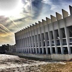 Photo taken at Estadio La Rosaleda by Victor G. on 11/21/2012
