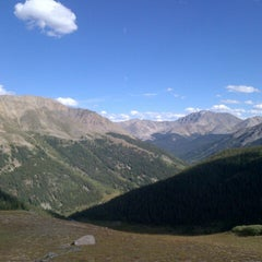 Photo taken at Independence Pass by Leo S. on 9/3/2014