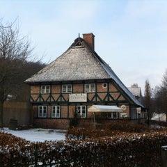 Photo taken at Freilichtmuseum am Kiekeberg by Nils P. on 1/25/2014