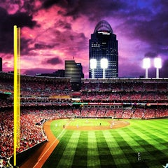 Photo taken at Great American Ball Park by Kelsey on 7/6/2013