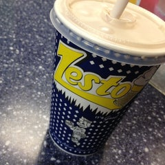 Photo taken at Zesto Drive-Ins by Johnny S. on 10/8/2012