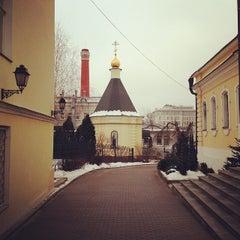 Photo taken at Храм святителя Николая в Звонарях by Михаил М. on 2/5/2014