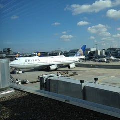 Photo taken at Concourse A by Sabre on 9/30/2012