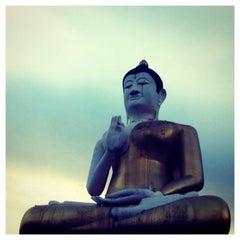 Photo taken at วัดหลวงอรัญ by อนุชา เ. on 3/19/2013