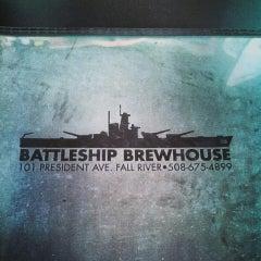 Photo taken at Battleship Brewhouse by Kerlinda on 6/9/2013