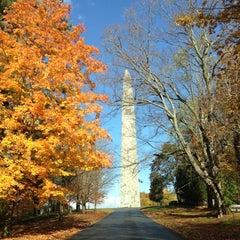 Photo taken at Bennington Monument by Myra M. on 10/20/2012