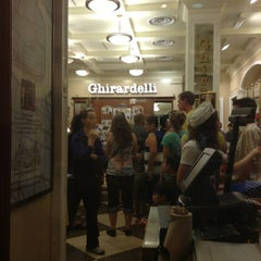 Photo taken at Ghirardelli Ice Cream & Chocolate Shop by Alexander F. on 7/7/2013