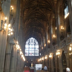 Photo taken at The John Rylands Library by André M. on 5/1/2013