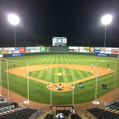 Photo taken at Knights Stadium by Tiffany W. on 4/20/2013