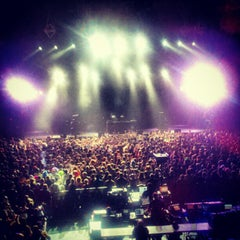 Photo taken at Thomas Wolfe Auditorium by GoodEats M. on 10/28/2012
