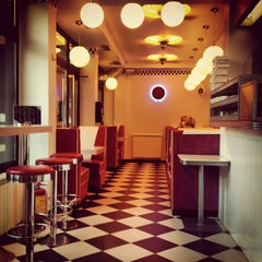 Photo taken at Intergalactic Diner by Aleksandra J. on 6/20/2013