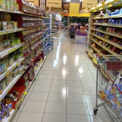 Photo taken at Supermercados Líder by Marcos S. on 9/30/2012