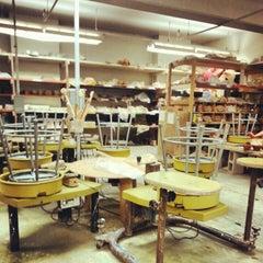 Photo taken at ASUC Art Studio by Amber G. on 10/27/2012
