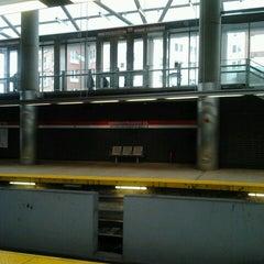 Photo taken at MBTA Ashmont/Peabody Square Station by Stephanie M. on 10/10/2012