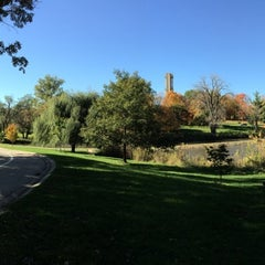Photo taken at Washington Park by Uriel A. on 10/21/2014