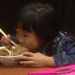 Photo taken at Lao Shan Dong Homemade Noodle House by Angus L. on 8/17/2015
