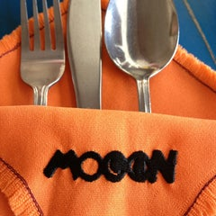 Photo taken at Mooon Cafe by Rezzille on 2/17/2013
