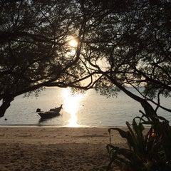 Photo taken at Sabai beach resort by Ksu on 3/18/2014
