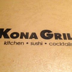 Photo taken at Kona Grill by Randel P. on 12/26/2012