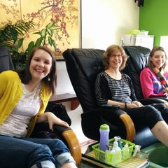 Photo taken at Blossom Nail & Spa by Jessie N. on 3/22/2014