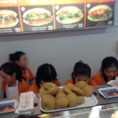 Photo taken at Nhu Lan Bakery by Mark M. on 8/16/2014