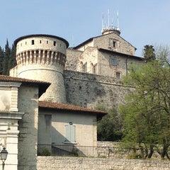 Photo taken at Castello di Brescia by Anton S. on 4/17/2013