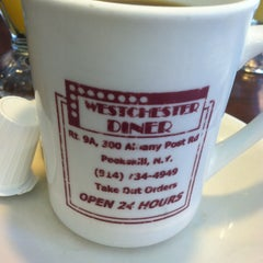 Photo taken at Westchester Diner by Ashley S. on 10/21/2012