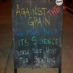 Photo taken at Against The Grain Brewery by Chris B. on 12/18/2011
