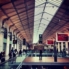 Photo taken at Gare SNCF de Paris Saint-Lazare by Michael on 4/7/2013