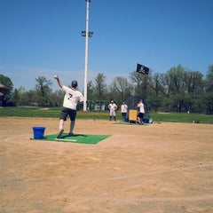 Photo taken at Belle Isle Athletic Field by Daniel E. on 5/10/2014