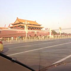 Photo taken at 天安门广场 Tian'anmen Square by Le Ricain en Ohio on 11/29/2012