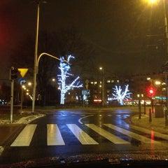 Photo taken at Plac Wilsona by Monika K. on 1/12/2013