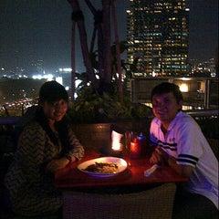 Photo taken at Plaza Semanggi Sky Dining by Fani H. on 11/1/2012