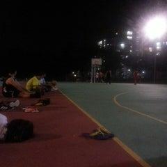 Photo taken at K9 Basketball Court by Muhammad Syazwanul Badri R. on 9/21/2012
