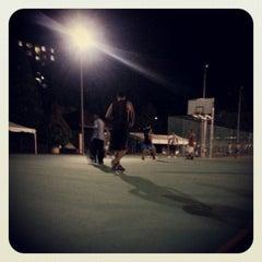 Photo taken at K9 Basketball Court by Muhammad Syazwanul Badri R. on 11/2/2012