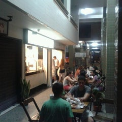 Photo taken at Mistura Fina Pizzas e Crepes by Hugo T. on 9/14/2012