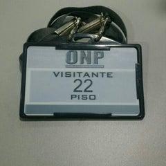 Photo taken at Oficina de Normalización Previsional - ONP by Fanny V. on 7/13/2015