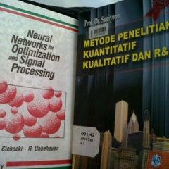 Photo taken at Perpustakaan Notohamidjojo by Petrus G. on 6/19/2014