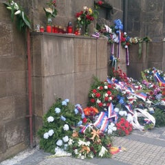Photo taken at National Memorial to the Victims of the Heydrich Terror by Václav T. on 6/19/2014