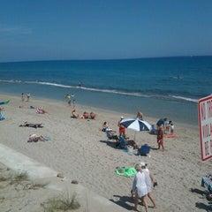Photo taken at Lantana Beach by joanna f. on 2/24/2013