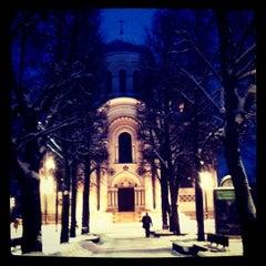 Photo taken at Laisvės alėja | Liberty Avenue | Аллея Свободы by Aiste I. on 1/21/2013