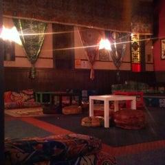 Photo taken at Sphinx Hookah Bar & Cafe by Meesh on 12/21/2012