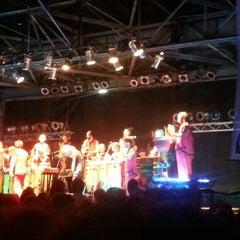Photo taken at Ciudad Cultural Konex by Giselle U. on 3/3/2014