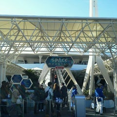 Photo taken at スペース・マウンテン (Space Mountain) by Jason C. on 12/11/2012