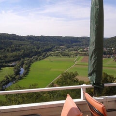 Photo taken at Hotel Schloss Weitenburg by Nabil D. on 9/18/2012