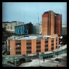 Photo taken at Clayton Hotel by Richard T. on 3/20/2013