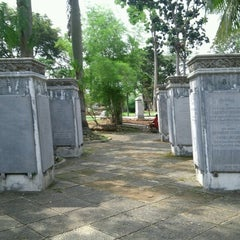 Photo taken at Museum Taman Prasasti by Kresnata A. on 12/1/2012